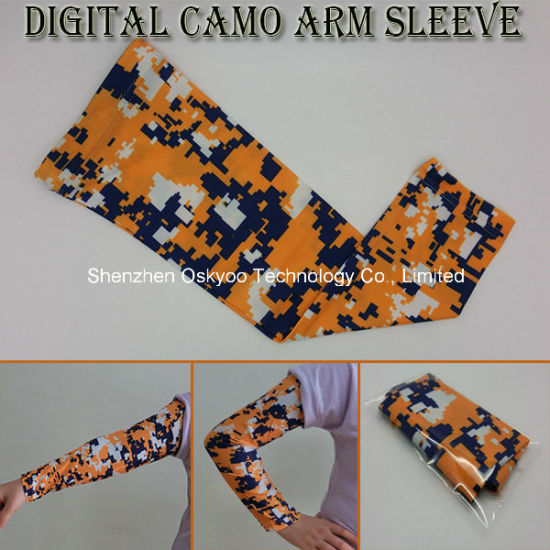 7616334256508 Sports Compression Anti-Static Digital Camo Arm Sleeve