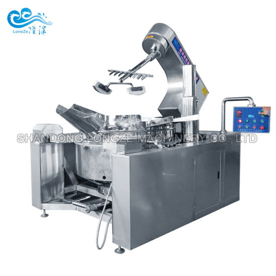 Factory Supply Hot Chili Red Pepper Tomato Ketchup BBQ Sauce Making Cooking Machine in Cheap Price