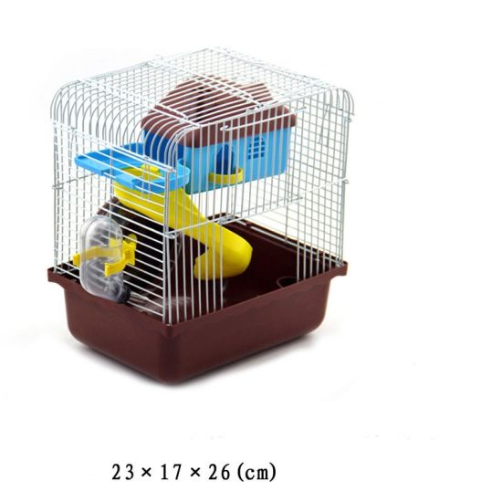 Small Hostel Hamster Cage Hamster Cage Double Hamster Cage pictures & photos