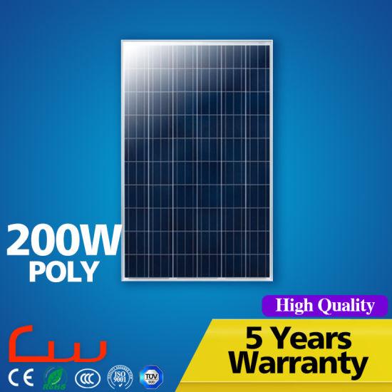Fashionable Most Popular Polycrystalline PV Solar Panel 200W