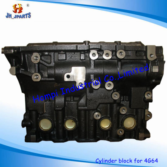 China Auto Spare Part Cylinder Block for Mitsubishi 4G64