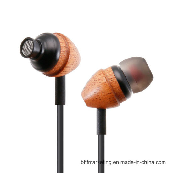 Unique Wooden in-Ear Earphone pictures & photos