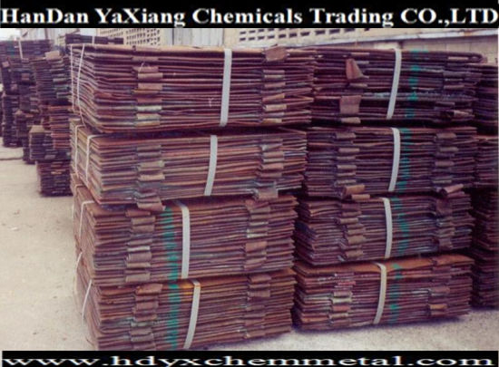Chinese Factory Supplier of Electrolytic Copper Price Electrolytic Copper