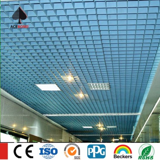 2017 High Quanity Aluminum Grid Open Suspended Ceiling pictures & photos