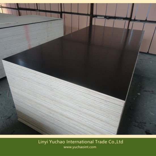 Chinese Black Film Faced Plywood for Construction pictures & photos