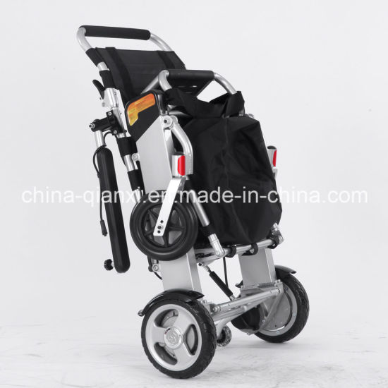 Ce Approved New Xfg-201FL Lightweight Portable Electric Wheelchair for Sale pictures & photos