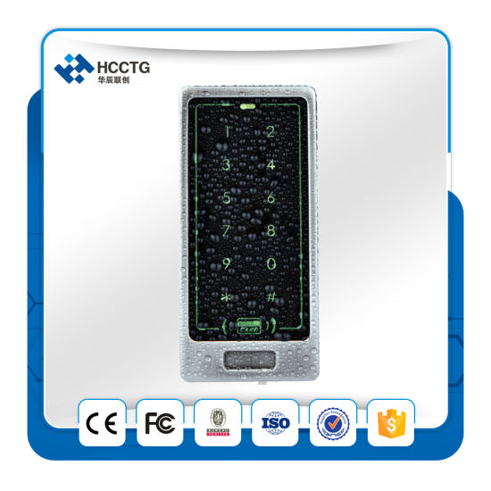 Wg26/34 for Access Control ID Card Reader Door Machine Touching Metal Keypad C40 pictures & photos