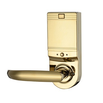 Zinc Alloy Access Control Fingerprint Password Smart Door Lock pictures & photos