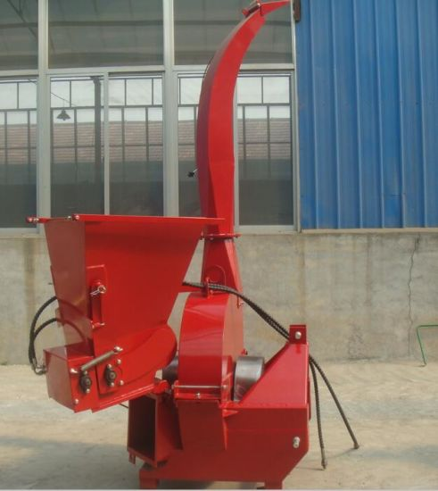 Hot Sale Tractor Pto Driven Hydraulic Self Feeding Wood Shredder Chipper