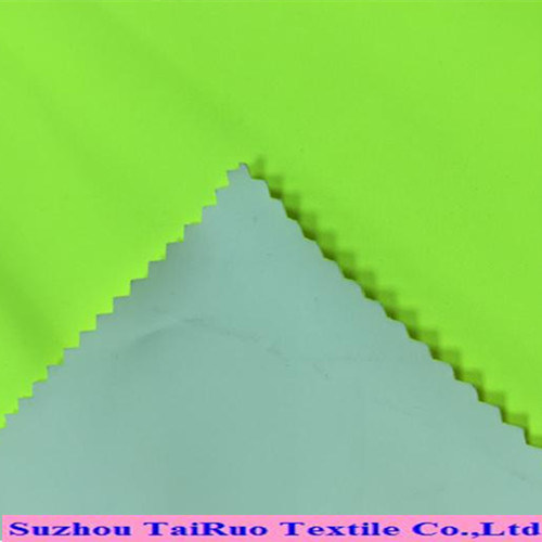 Microfiber Poly Pongee with Coating for Outdoor Fabrics
