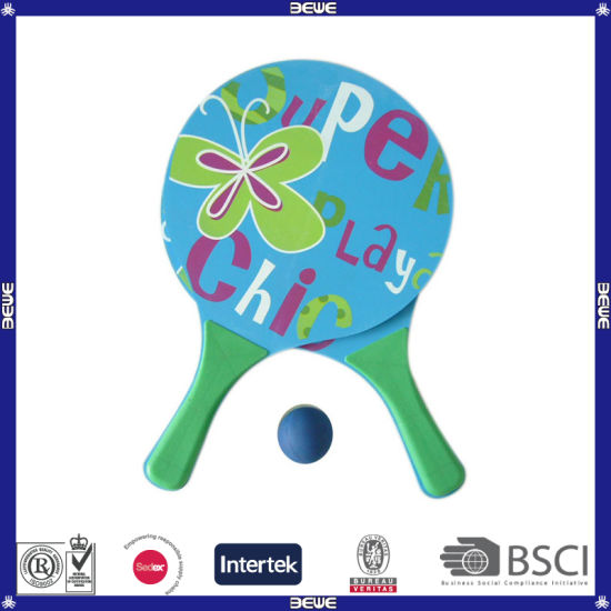 Custom Printing MDF Wood Beach Racket pictures & photos