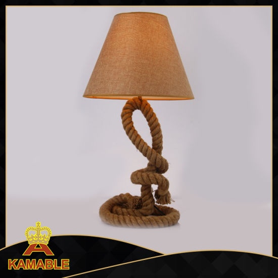 Industrial Style Hamp Rope Table Lamp (KW0321T 1)