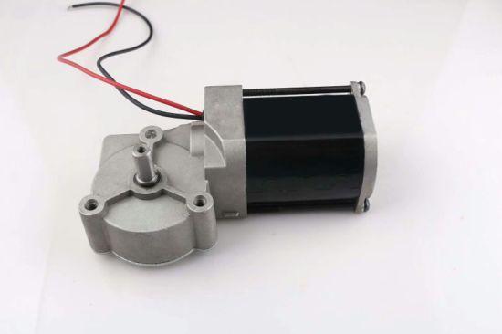 49mm 59mm 63mm 76mm 88mm DC 12V 24V Worm Gear Motor
