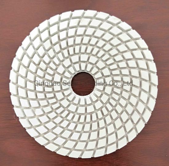 Korea High Quality Spiral Type Wet and Dry Diamond Polishing Pad
