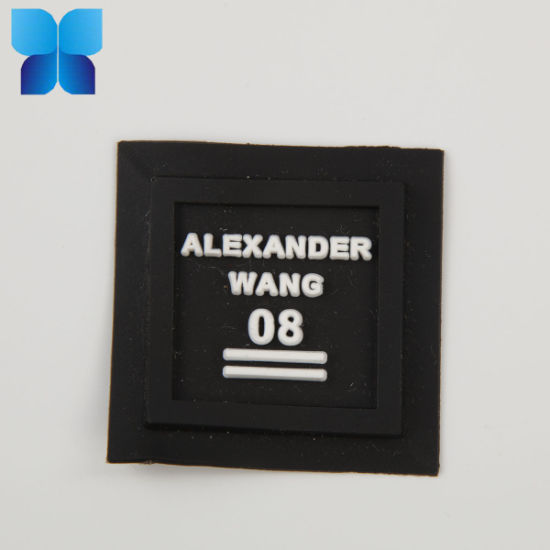 Hot Sell Rubber Label in Garment Accessories