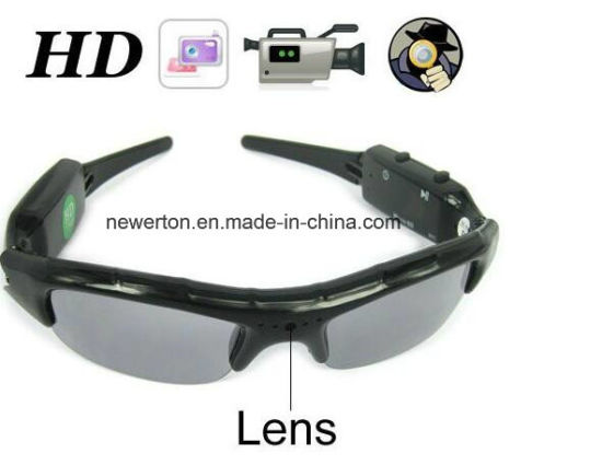 720p Mobile Eyewear Recorder Micro SD Storage Camera Mini DVR Sunglasses Camera pictures & photos