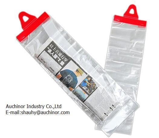 Newspaper Delivery Bags Door Plastic Hanger Polyethylene Hanging