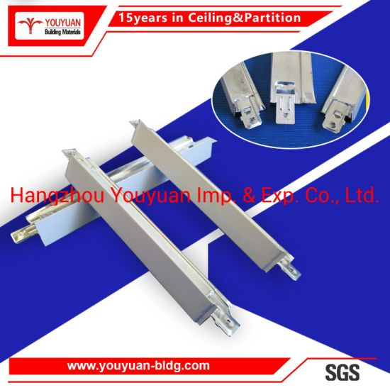 High Quality Suspended Building Materials Light Ceiling T Bar Steel Keel pictures & photos