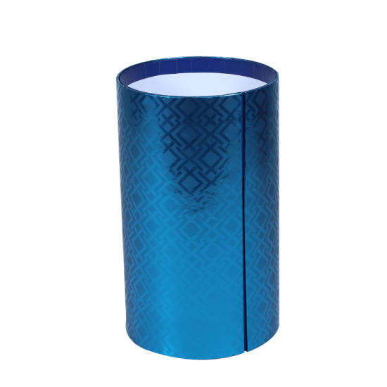 Customized Round/Cylindrical Paper Gift Box with Ingenuity Design