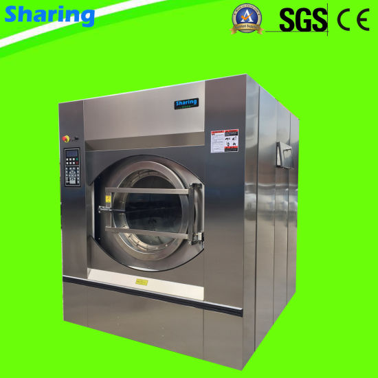 Fully Automatic Industrial Laundry Washer Machine 50kg Hotel Laundry Washer Extractor