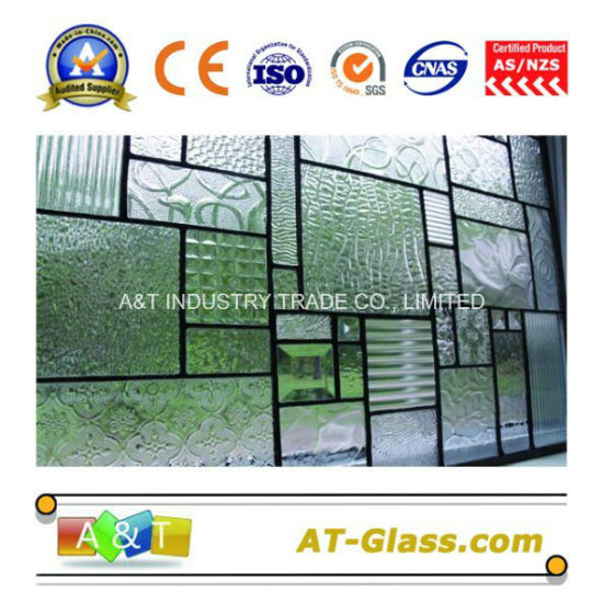 3-8mm Patterned Glass/Rolled Glass Used for Building Window, etc pictures & photos