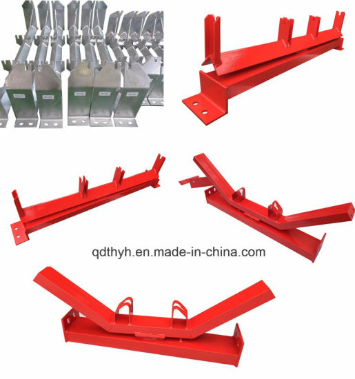 Steel Conveyor Bracket Frame, Roller Frame for Belt Conveyor Roller pictures & photos