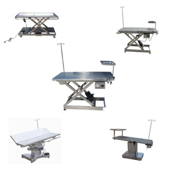 New Top Quality Veterinary Operating Table pictures & photos
