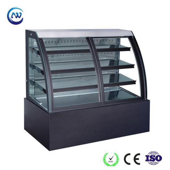 Fan Cooling Cold Display Counter Dessert Refrigerated Display Fridge (KT740AF-M2)