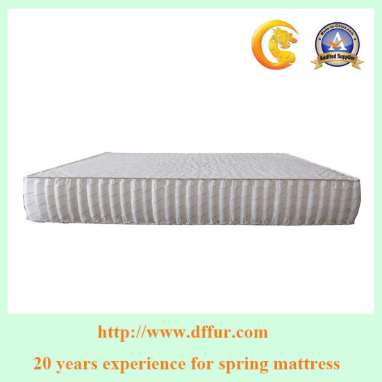 Healty Sleep Zoned Sofa/Mattress Pocketed Spring Used for Furniture Df-07 pictures & photos