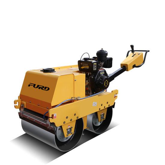 550kg Hydrostatic Drive Roller Hand Roller Compactor Fylj-S600c