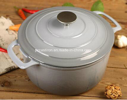 Enamel Cast Iron Cookware Manufacturer in China Dia 26cm 5.5L pictures & photos