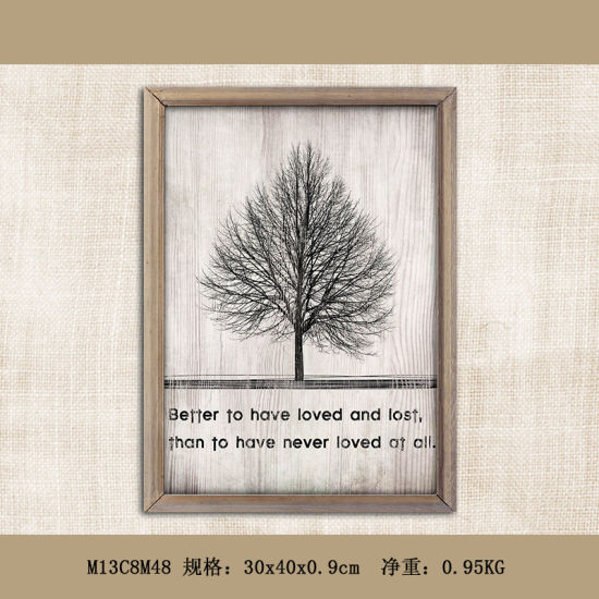 Modern Home Goods Wall Art Canvas Wooden Painting Wall Decoration pictures & photos