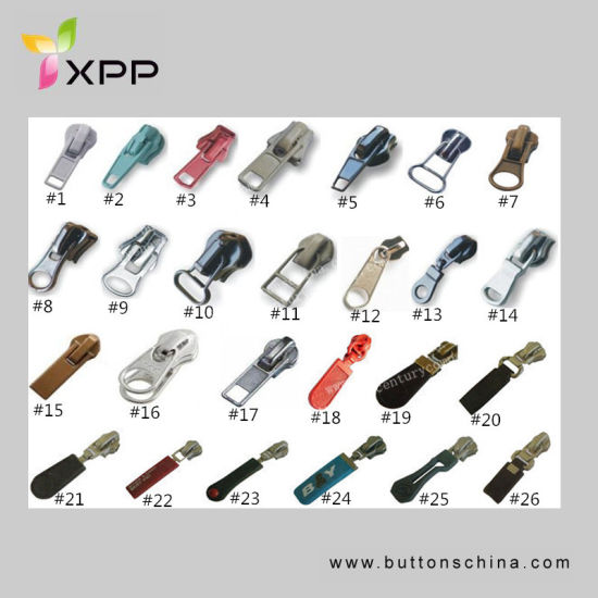 Slider for Nylon Zipper pictures & photos