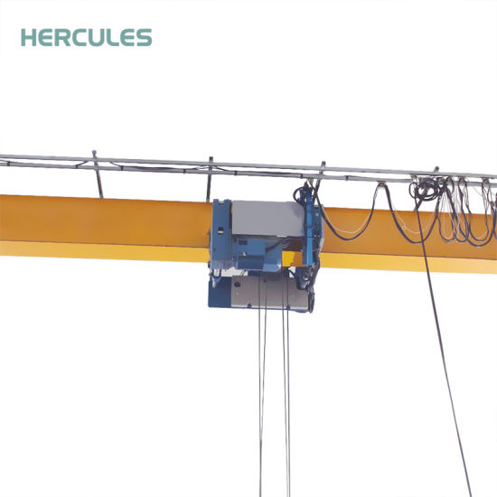 20t High Quality Lifting Equipment Single Girder Overhead Crane pictures & photos