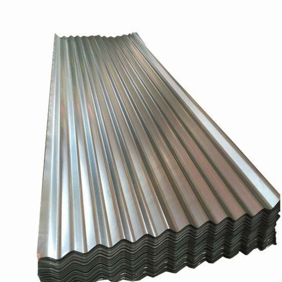 Building Material Regular Spangles Zn30g Galvanized Steel Zinc Roofing Sheet