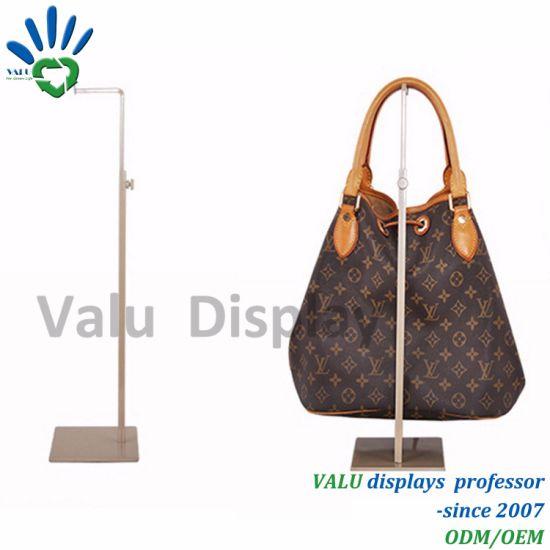 Counter Top Ping Mall Display Stand For Handbag Displaying
