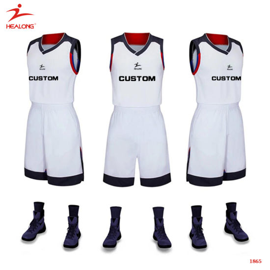 2d5b53fa861 ... healong top sale sportswear sublimation printing basketball jersey for  men