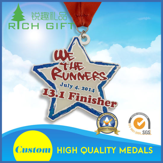 custom quotes gold badge medals insignias for awards