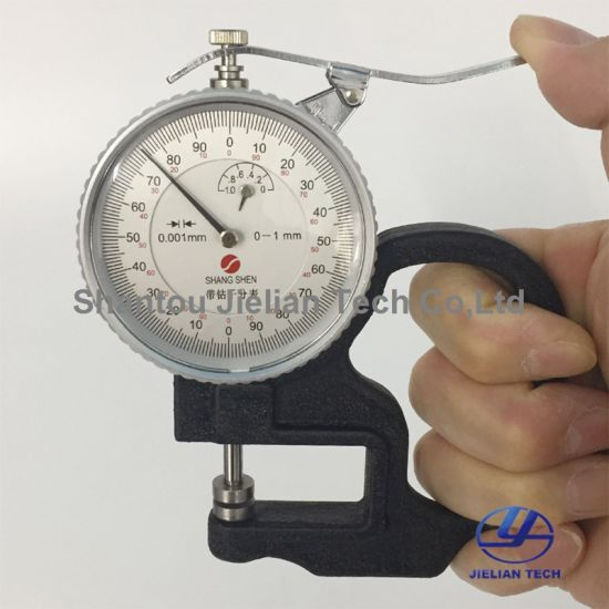 0-1mm 0.001mm Portable Thickness Gauge for Measure Paper pictures & photos