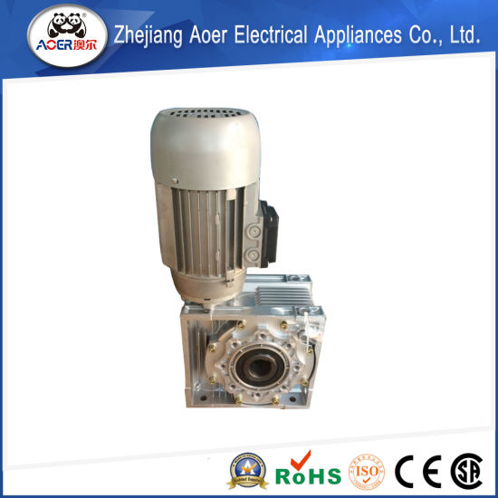 Single Phase Asynchronous AC Electric Motors 1100W with Worm Reducer pictures & photos