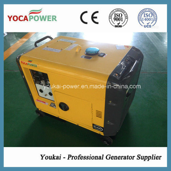 Home Use Small Silent Type 5kw Power Diesel Generator pictures & photos