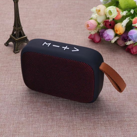 Wireless Blue Tooth Mini Size Portable Speaker with Super Bass Surround Sound Music FM Radio pictures & photos