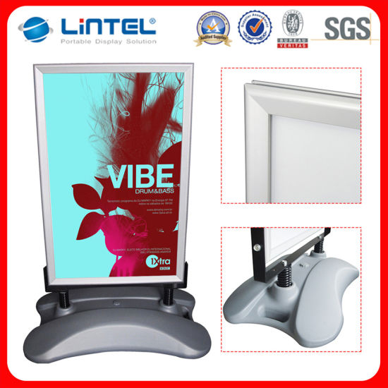 China A1 Double Sided Poster Board Advertising Snap Frame (LT-10G2 ...