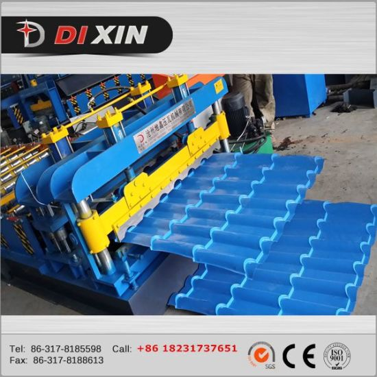 Dx 840 Roof Panel Glazed Tile Roll Forming Machine pictures & photos