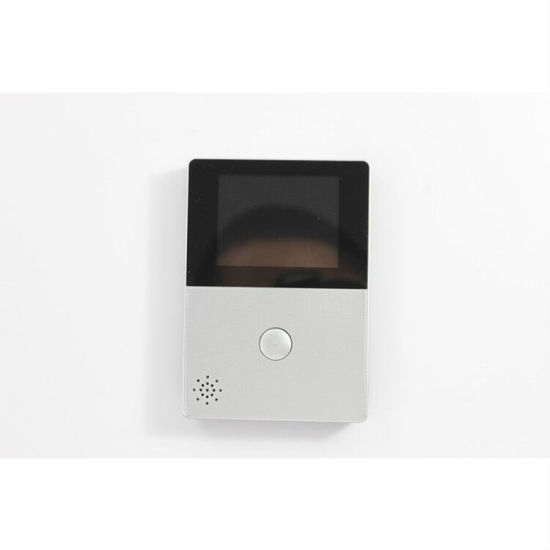 Highest Rated Video Intercom Front  Camera WiFi Doorbell with Peephole LED Screen pictures & photos