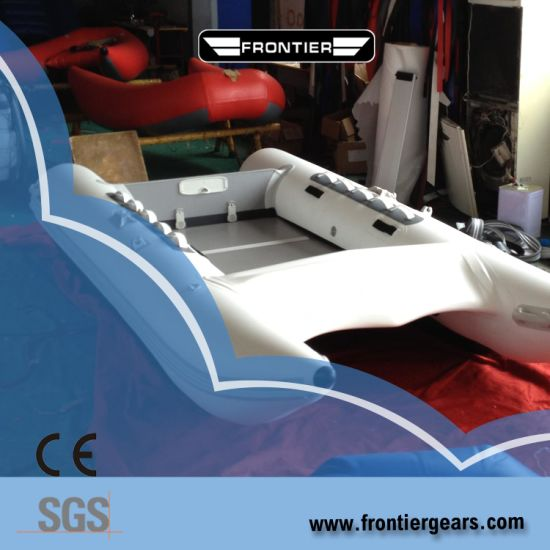 Audac River Boats for Sale 2 7-4 3m Inflatable Fishing Boat Catamaran