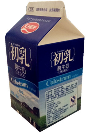 500ml 3 Layer Gable Top Carton for Fresh Milk pictures & photos