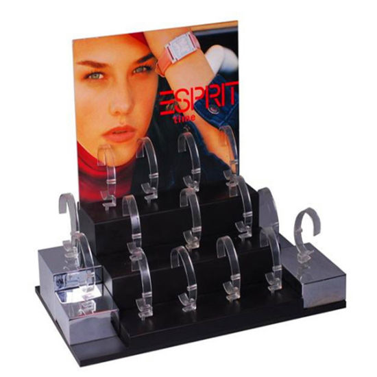 Hot Sale, 2016 Acrylic Watch Stands Showcase Riser Jewelry Displays