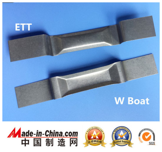 Evaporation Boat: High Quality Molybdenum Boat and Tungsten Boat pictures & photos