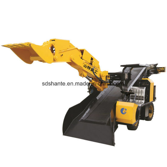 Mineral Mining Underground Electric Skid Steer Loader for Narrow and Confined Tunnel